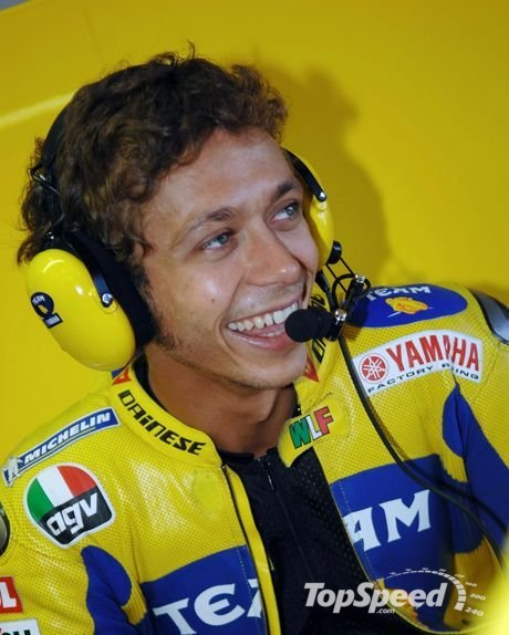 valentino rossi. valentino rossi is back on