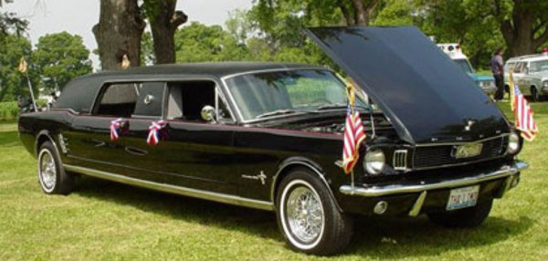 1966 Ford Mustang Limousine Car News Top Speed