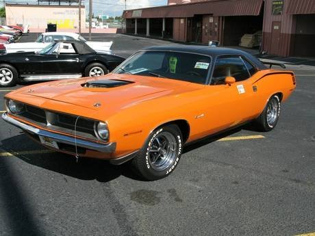 Corvette Stingray   Speed on Most Desirable Muscle Cars On The Planet 1970 Plymouth Cuda