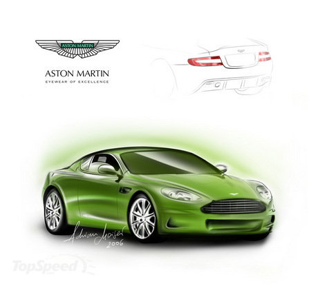 2008 Aston Martin Dbs Racing Green. aston-martin dbs picture
