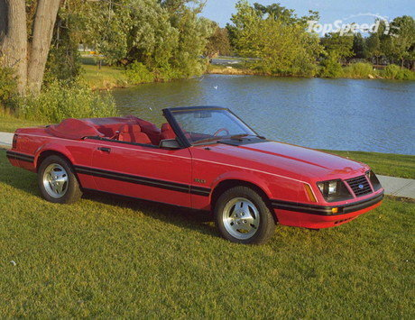 1982 Ford Mustang. generation Ford Mustang