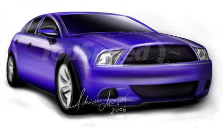 2011 Ford Mustang Wallpaper. ford mustang 4 door sedan