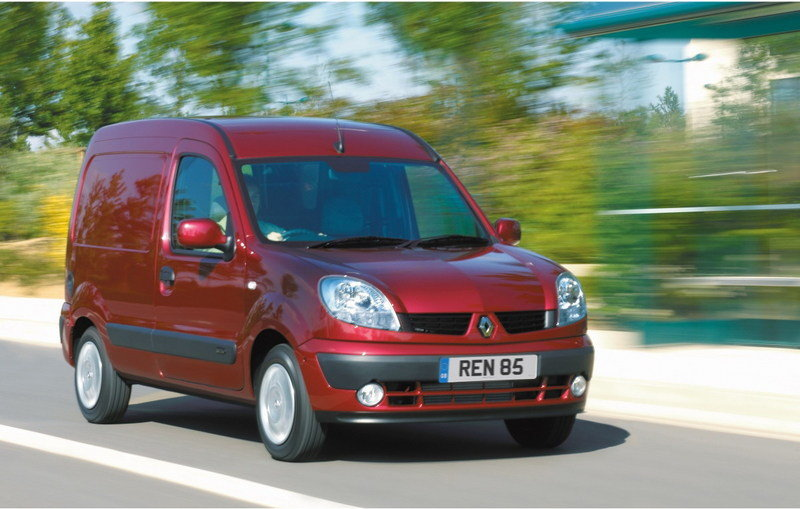 Clio Campus Van and New Kangoo Van 2007