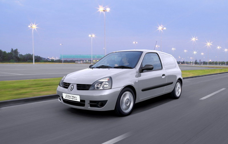 clio campus van and new kangoo van 2007 news top speed. Black Bedroom Furniture Sets. Home Design Ideas