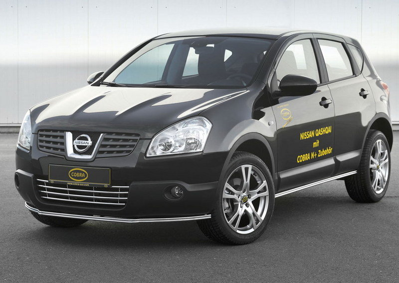Cobra's accessories for the new Nissan Qashqai