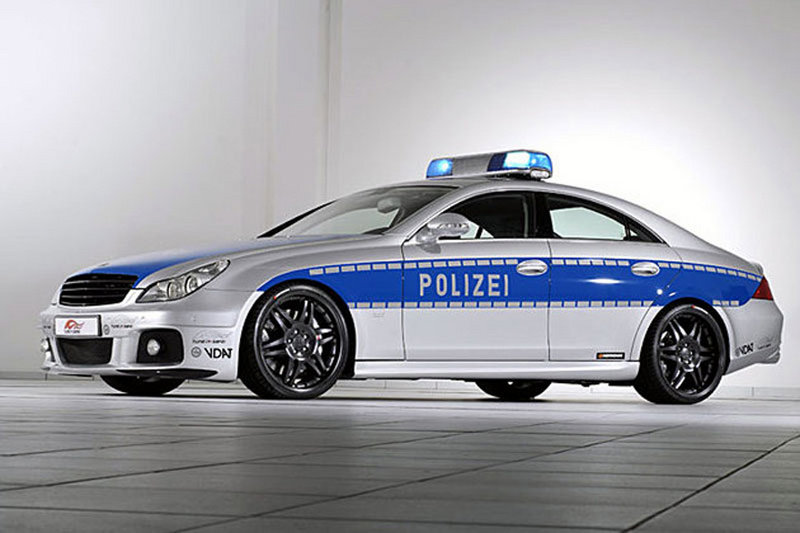 Could this be the fastest Police Car in the World?