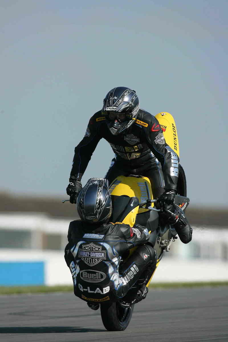 Craig Jones and Buell set another world record