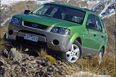 Ford Territory-a hit in Australia