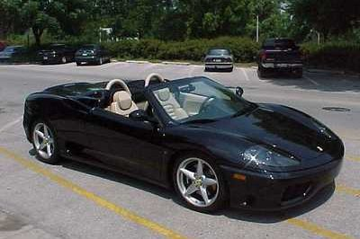 How would you like a Ferrari 360 Spider for Christmas?