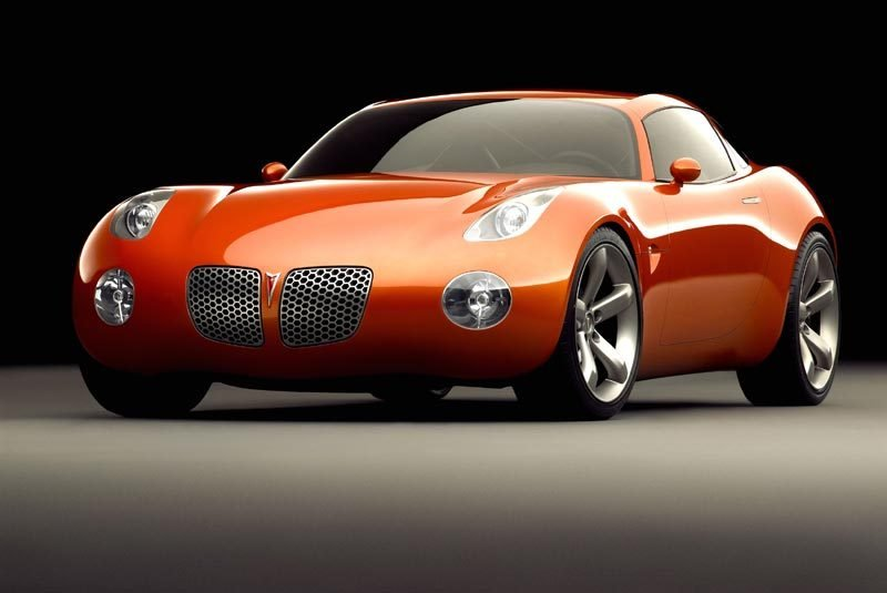 Pontiac Solstice Coupe on the work?