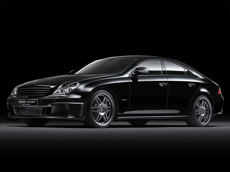 The Brabus Rocket becomes the fastest four door saloon car.