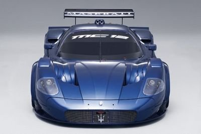 The Maserati MC12 road car makes an appearance at the LA Auto Show.