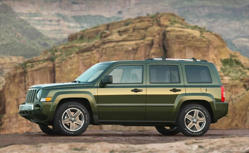 The new Jeep Patriot with a price tag of under $15K.