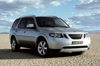 The Saab 9-7 aero, another SUV!