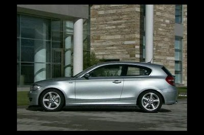 2007 BMW 1-series 3door and facelift