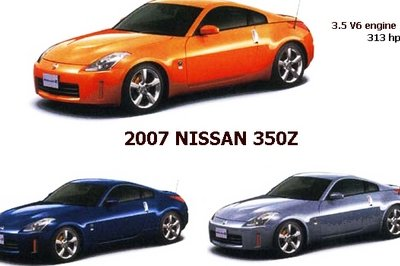 2007 Nissan 350Z - prices announced