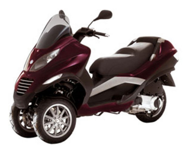 2007 piaggio mp3 review - top speed