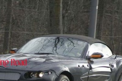 2010 BMW Z9 spy shots