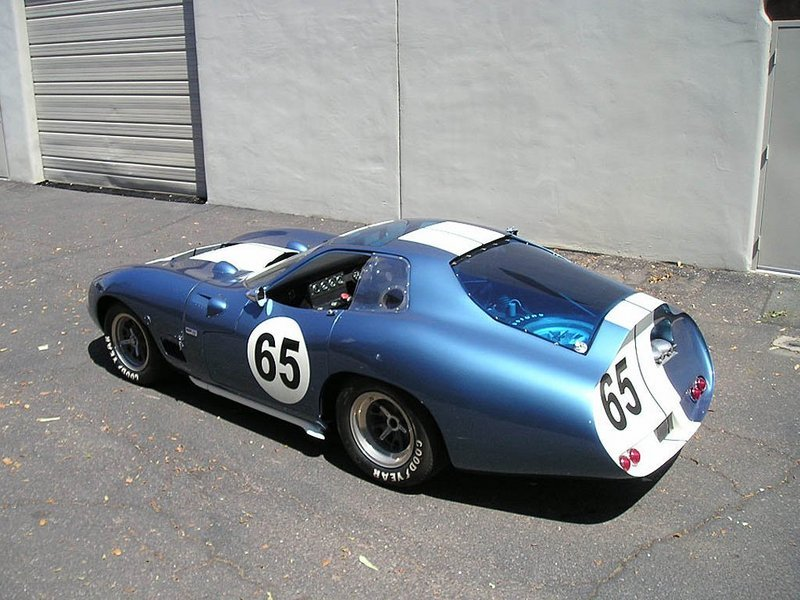 A Shelby Cobra Daytona Super Coupe for Schumi