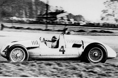 Christie's auctions Auto Union Type D racing car