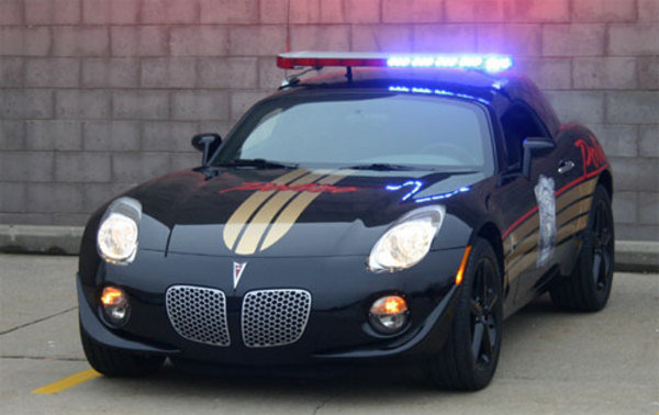 Edag Pontiac Solstice Police Car News Top Speed