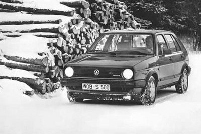 Golf celebrate 20 years of four-wheel drive