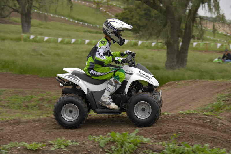 Kawasaki Motors recalls 2007 KFX50 and KFX90 all-terrain vehicles