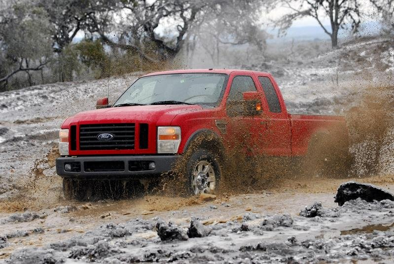 Media gets a look at Ford Super Duty - image 140819