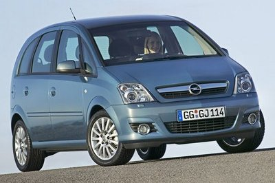 Opel Meriva-lowest defect rate