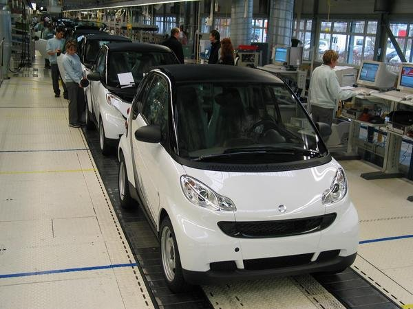 smart fortwo production start picture
