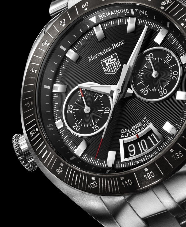 Tag heuer slr for mercedes benz car news top speed for Tag heuer mercedes benz slr