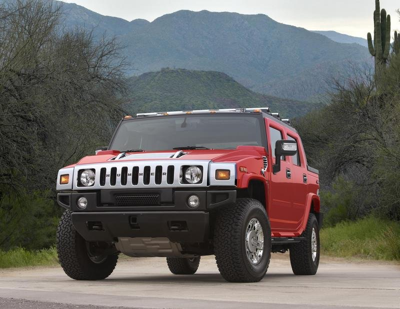 2007 Hummer H2 Victory Red Limited Edition