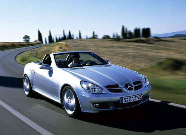 2007 mercedes slk car review top speed. Black Bedroom Furniture Sets. Home Design Ideas