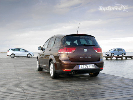 The Altea XL's practicality comes particularly to the fore in terms of its