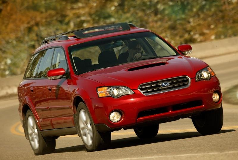 2007 Subaru Legacy and Outback - Highest Ratings in NHTSA NCAP Crash Tests