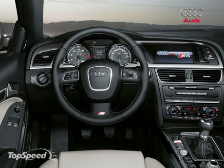 However, true strength comes from within and the interior design of the Audi