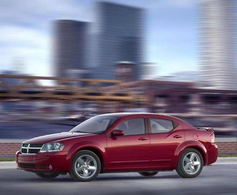 2008 Dodge Avenger production start