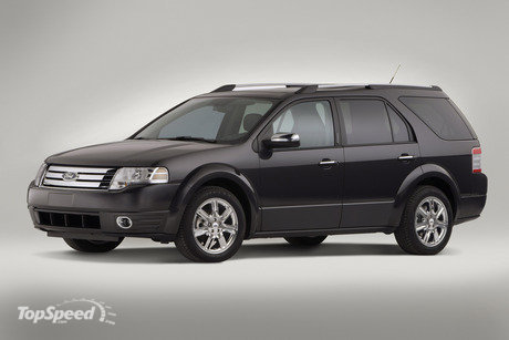 The 2008 Taurus X will reach dealer showrooms in late summer 2007.