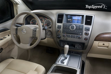 Nissan Armada powers into 2008 with improvements that add to its appeal as