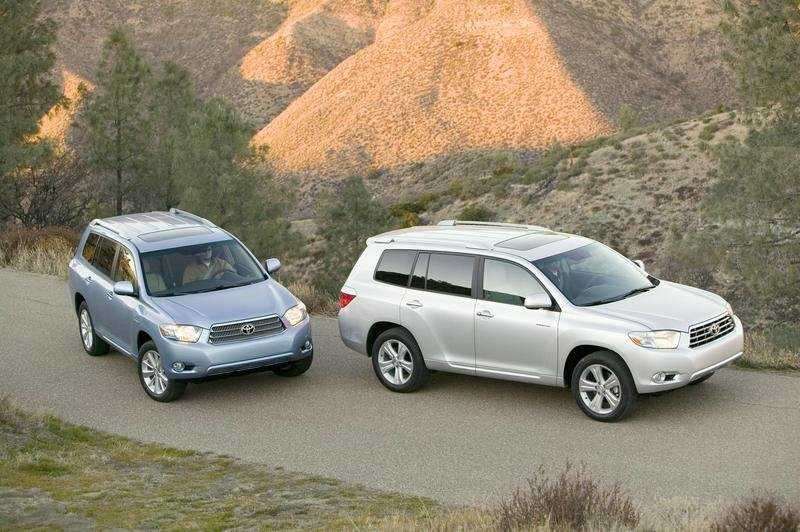 2008 Toyota Highlander and Highlander Hybrid