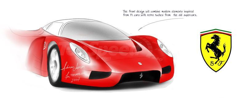 2009 Ferrari F70 Anticipated; At least that's what history has shown