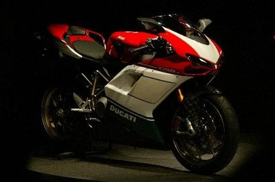 Ducati attend the MCN London Motorcycle Show