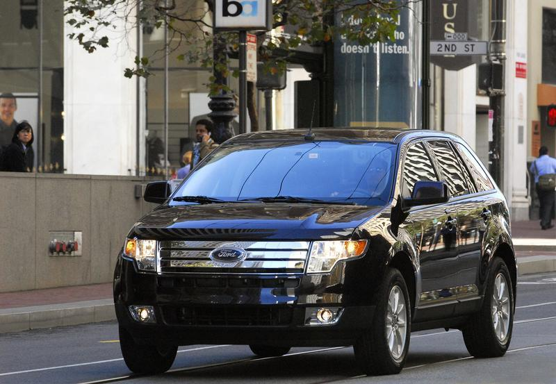 Ford Edge And Lincoln Mkx Get Last Minute Redesign