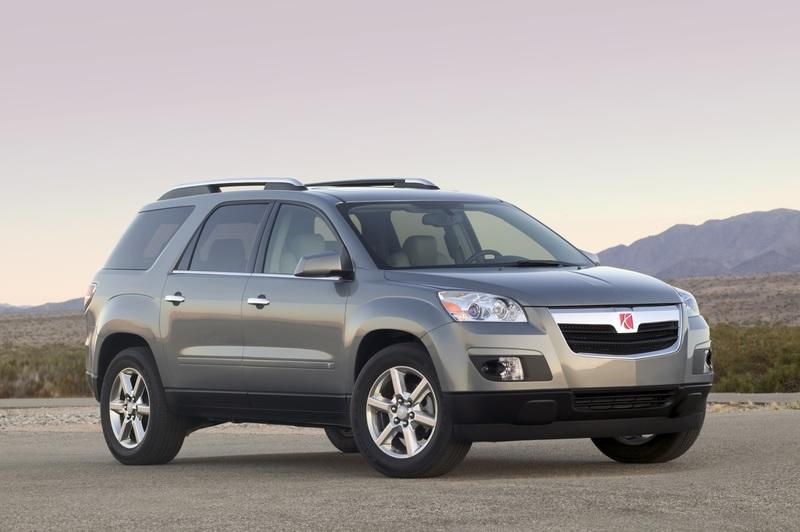 GM recalling 2007 GMC Acadia and Saturn Outlook