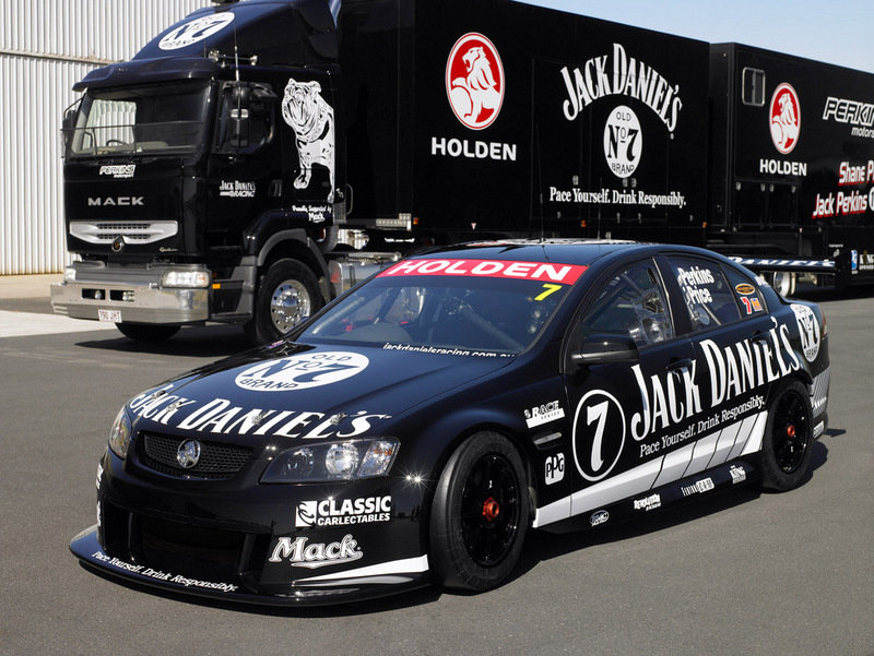 Jack Daniel's Racing Holden Commodore VE V8 Supercar