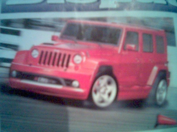 jeep wrangler unlimited srt-6 spy shots picture