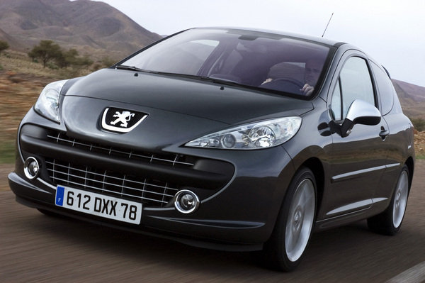 2007 peugeot 207 rc car review top speed. Black Bedroom Furniture Sets. Home Design Ideas