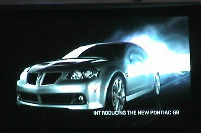 Pontiac G8 - first shots from Chicago