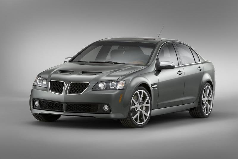 Pontiac G8 built on GM's new global RWD architecture