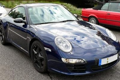 Porsche 911 Carrera S 2009 - Spy Shots